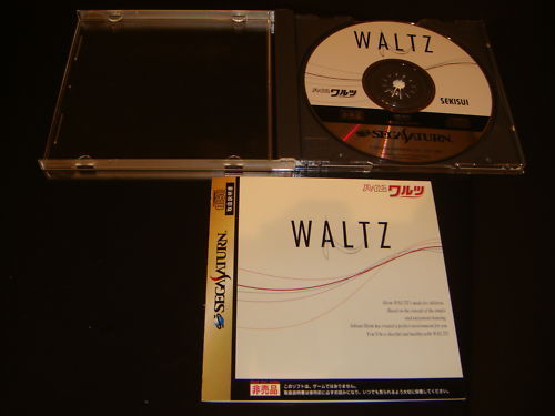 Heim Waltz Not-for Sale Sega Saturn